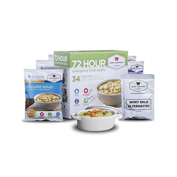 Wise Company® Freeze-Dried Food & Drink Supply, 72-Hours (32 Servings)