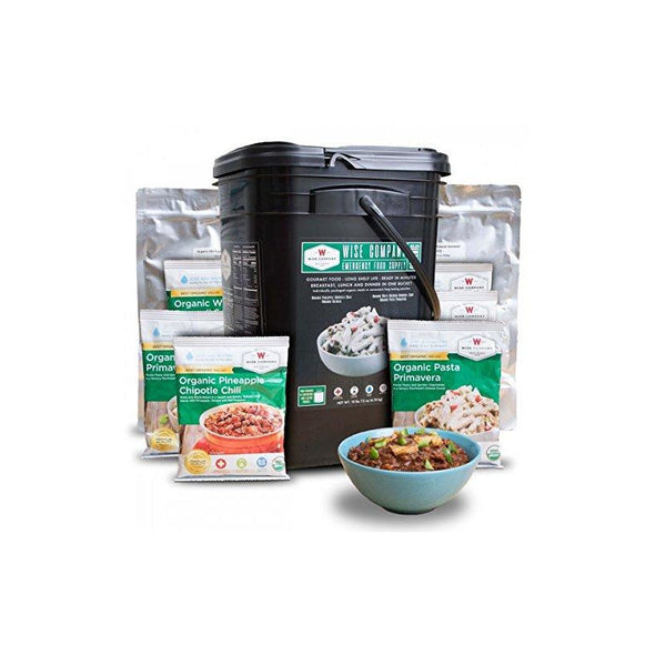 Wise Company® Organic Breakfast & Entree Variety (90 Servings)