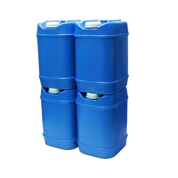 Stackable Water Containers (5-Gallons Each)