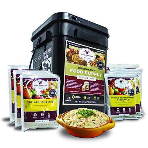 Wise Company® Emergency Food Supply (60 Servings)