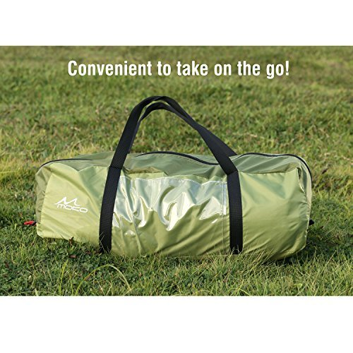 MoKo® Waterproof Family Camping Tent (Army Green)
