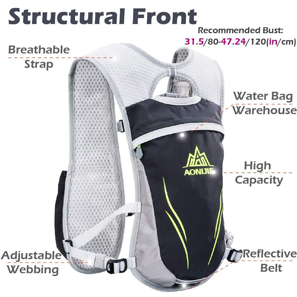 AONIJIE® Lightweight Hydration Pack Backpack