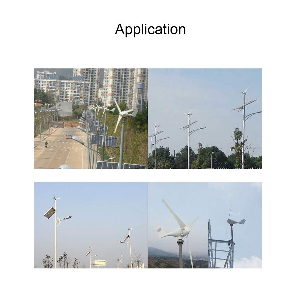MarsRock® 3-Blade 12- or 24-Volt Wind Turbine