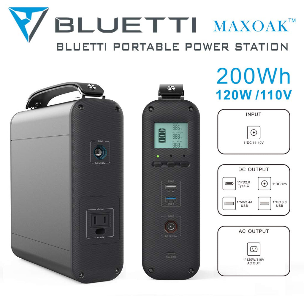 MAXOAK® 200-Watt Portable Battery Backup