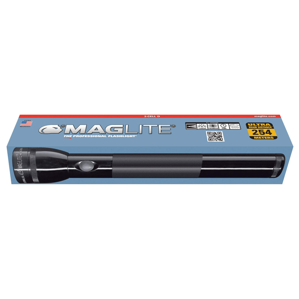 Maglite 3-Cell D-Battery Flashlight