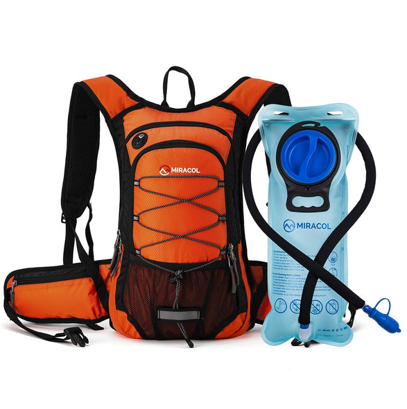 MIRACOL® Hydration Backpack with 2L Water Bladder