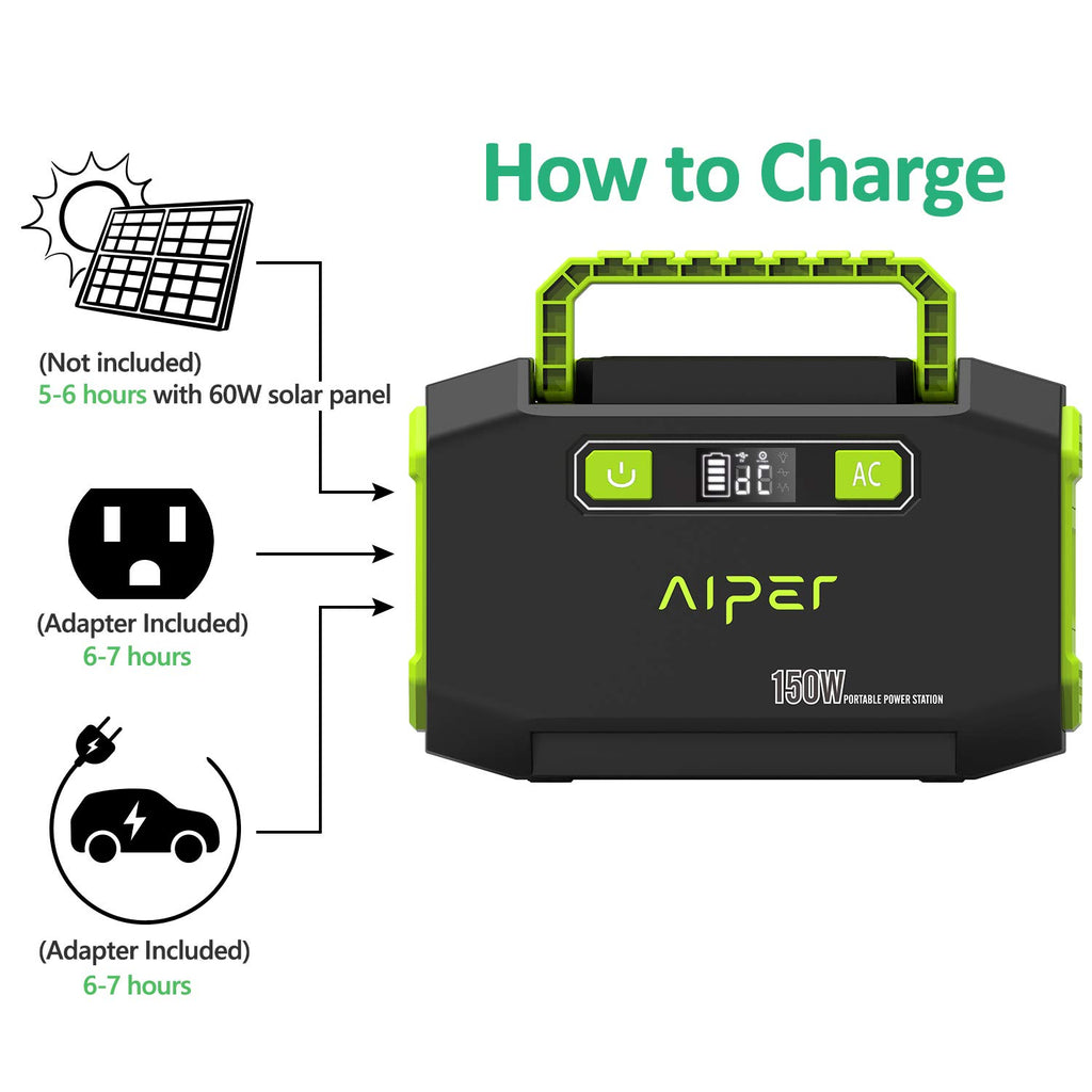 AIPER® Portable Solar Power Station