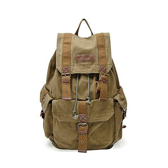 Gootium® Specially High Density Canvas Backpack