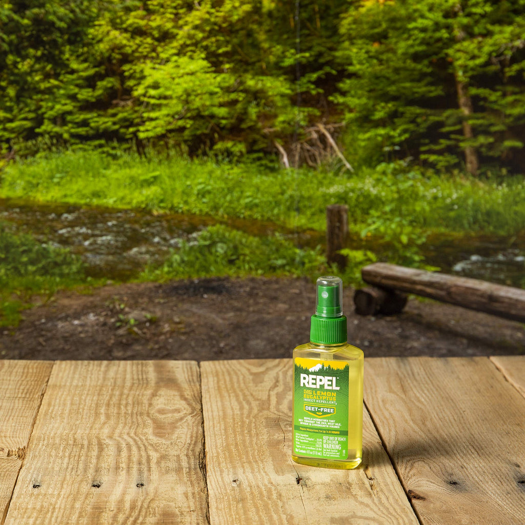 REPEL® Plant-Based Lemon Eucalyptus Insect Repellent