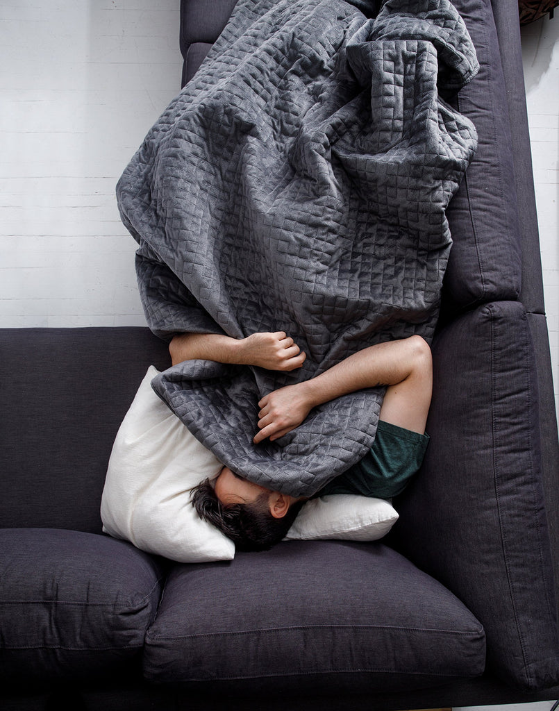 Gravity Blanket: 20lb Weighted Blanket