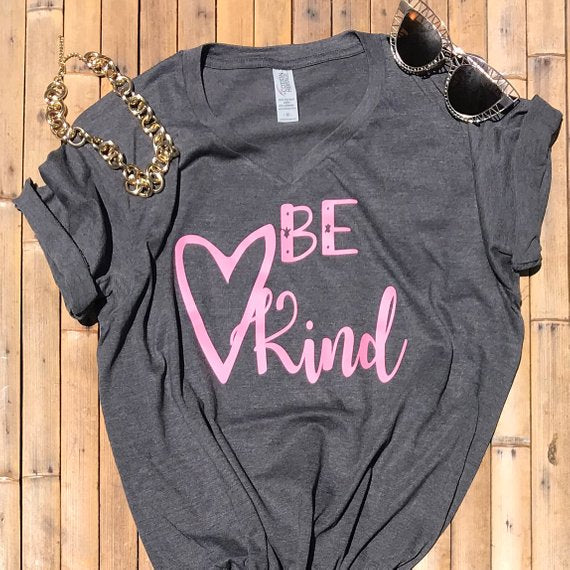 Be Kind with a Loving Heart T-Shirt