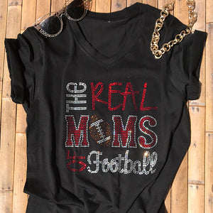 b9c8a785 Clouet Street · The Real Moms of Football Rhinestone Shirt. From $14.95.  Warning Soccer Mom Will Yell Loudly Sports ...