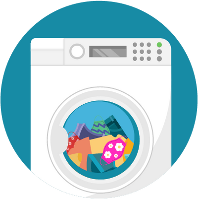 How to Wash Cloth Face Mask Coverings?