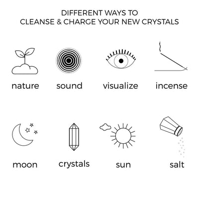 How to Cleanse Your Crystals for Beginners...