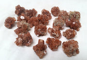 Red Aragonite Crystals - Liv Rocks + Cute Face Masks