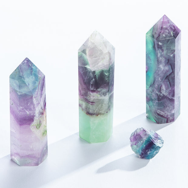 Fluorite Towers - Liv Rocks + Cute Face Masks