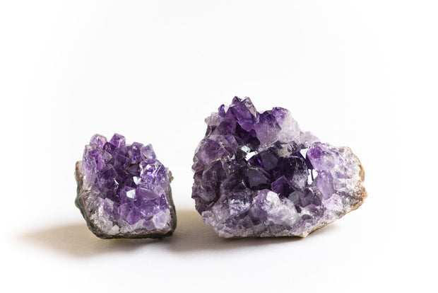 Amethyst Crystal Cluster - Liv Rocks + Cute Face Masks