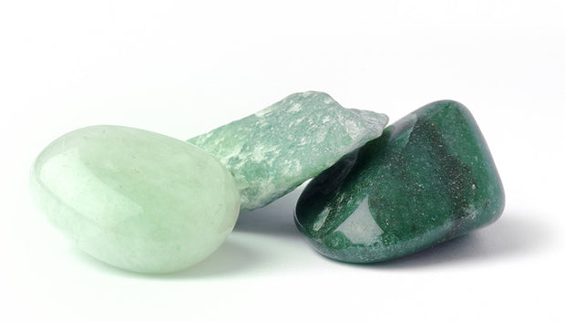 Green Aventurine Polished Stone - Liv Rocks + Cute Face Masks