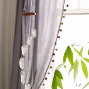 Clear Quartz Wind Chime - Liv Rocks + Cute Face Masks