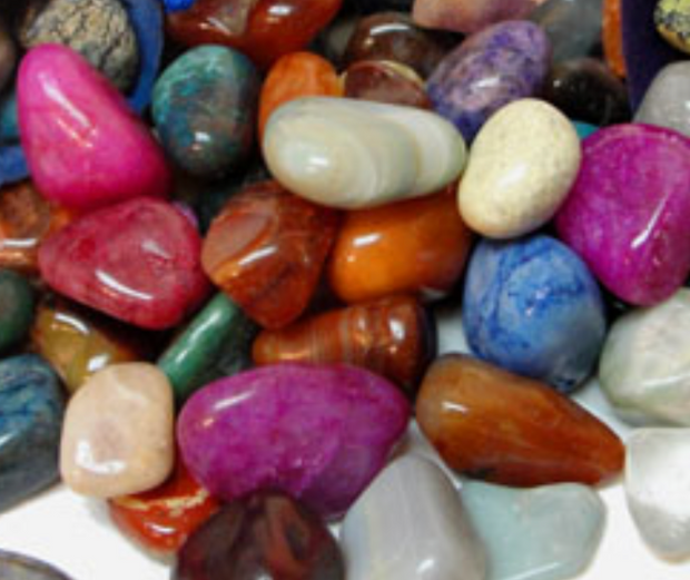 Bulk Polished Stone Trail Mix - 1 lb. - Liv Rocks + Cute Face Masks