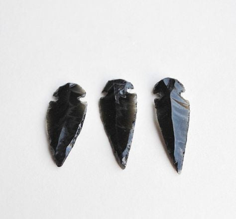 Black Obsidian Arrowheads - Liv Rocks + Cute Face Masks