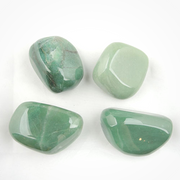 Green Aventurine Tumbled Stones - Liv Rocks + Cute Face Masks