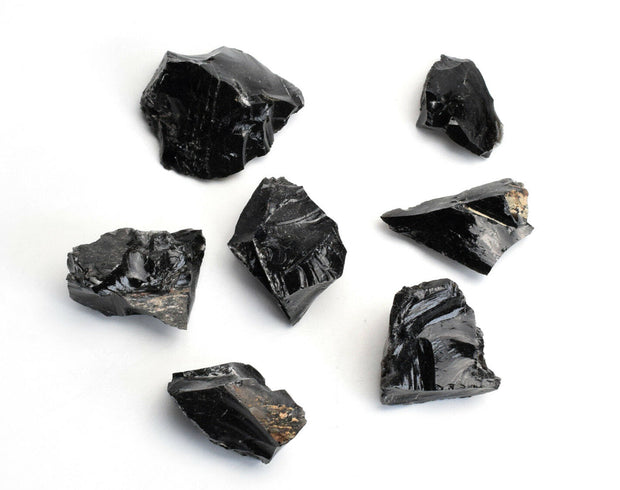 Black Obsidian Stone - Liv Rocks + Cute Face Masks