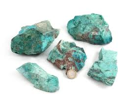 Chrysocolla Rough Stones - Liv Rocks + Cute Face Masks