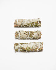 White Sage + Rosemary Smudge Sage Sticks - Liv Rocks + Cute Face Masks