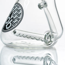 Zob 16 inch Stemless Inline Diffused Beaker Wubbler with UFO Percolator