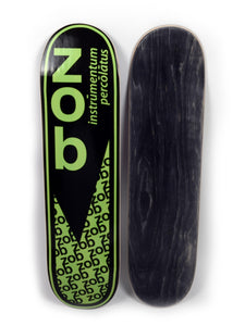 Zob Skateboard Deck- Grey Top