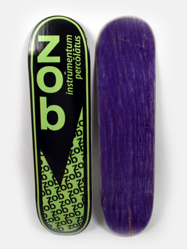 Zob Skateboard Deck- Purple Top
