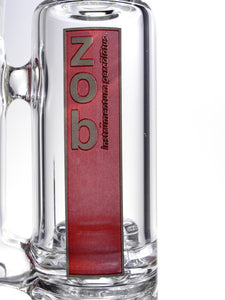 Zob 13 inch Stemless Micro Wubbler with Zobello Percolator