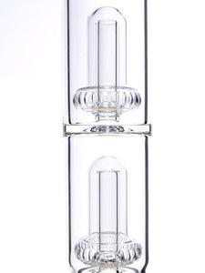 Zob 18 inch Mini Straight Tube with Double UFO Percolators