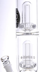 Zob 22 inch Straight Tube with Double UFO Percolators