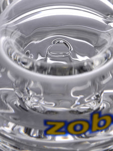Zob 18 inch Stemless Straight Tube with Zobello and 8 Arm Tree Percolators