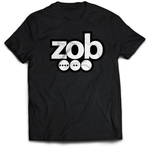 Zob White Dots Logo T-Shirt