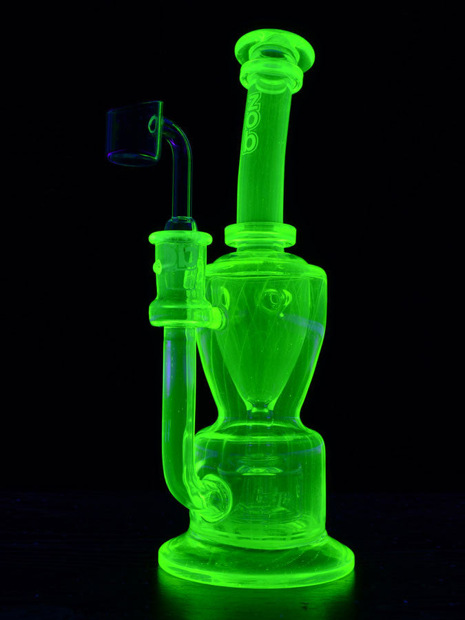Zob 9.5 inch Custom UV Incylcer- Full Illuminati Glass #CH