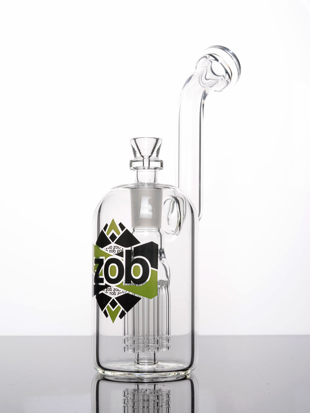 Zob 10 inch Wubbler Mouthpiece Bubbler with 8 Arm Tree Percolator