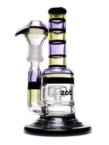 Zob 8 inch Custom Bubbler with Puck Perc #CH