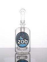 Zob 10 inch Wubbler Mouthpiece Bubbler with Showerhead Percolator
