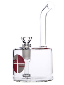 Zob Fat Boy Bubbler with Fixed Flat Disc Percolator
