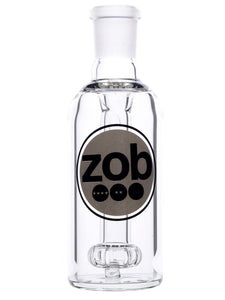 Zob 5 inch Ash Catcher with Flat Disc Percolator - 45 Degrees