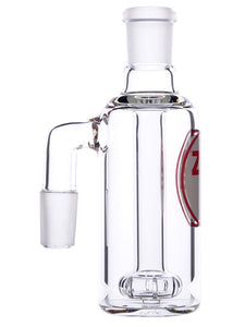 Zob 5 inch Ash Catcher with Flat Disc Percolator - 90 Degrees