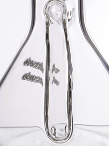 Zob 18 inch Stemless El Chap Beaker with Escape Tunnel Perc