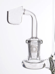 Zob 18 inch Stemless El Chapo Straight Tube with Escape Tunnel Perc