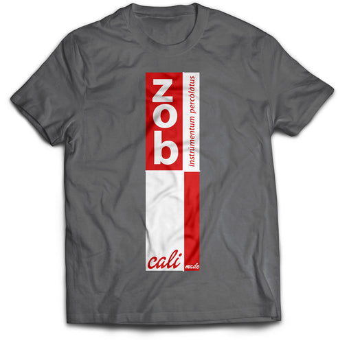 Zob Stacked Logo (Colors) T-Shirt