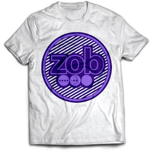 Zob Stripped Logo T-Shirt