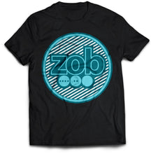 Zob Stripped Logo (Black) T-Shirt