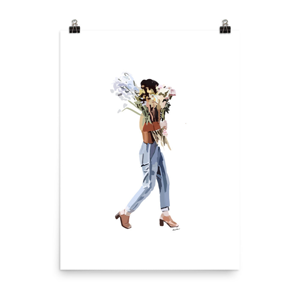 Flower Delivery Poster
